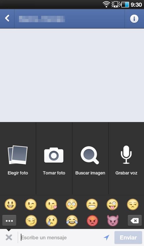 Facebook Messenger ahora permite enviar mensajes de voz