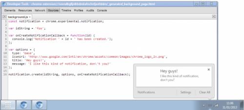 Futuras versiones de Chrome añadirán un nuevo centro de notificaciones