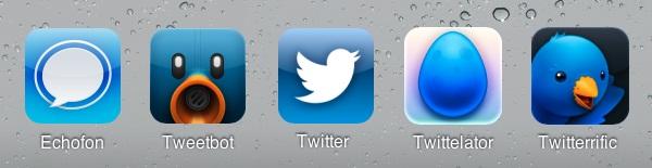 Clientes Twitter para iOS