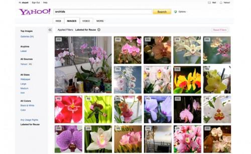 Yahoo! combina la búsqueda de imágenes con Flickr