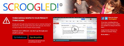 Microsoft vuelve a la carga contra Google y Gmail