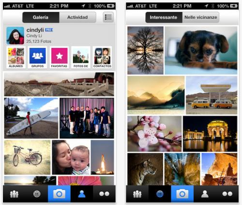 Yahoo! añade nuevas opciones a Flickr para iOS
