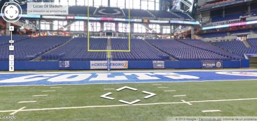 Google Maps se mete en un estadio de la NFL