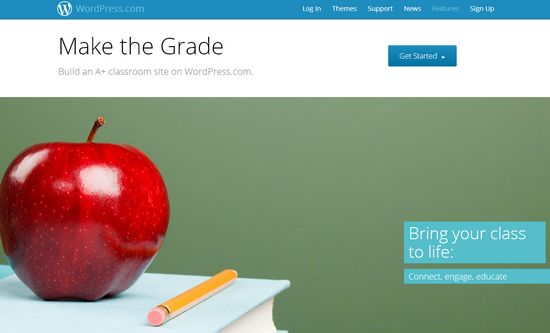 Classrooms, WordPress para profesores