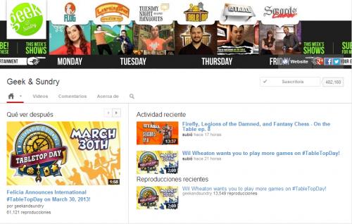 El diseño unificado para canales de YouTube fue lanzado públicamente