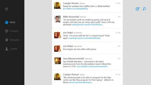 Twitter para Windows 8 fue lanzado oficialmente
