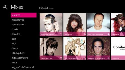 Nokia Music, disponible en Windows 8 y Windows RT
