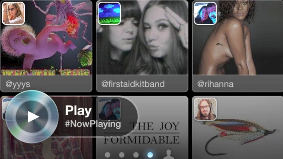 Twitter #Music ya funciona en algunos países