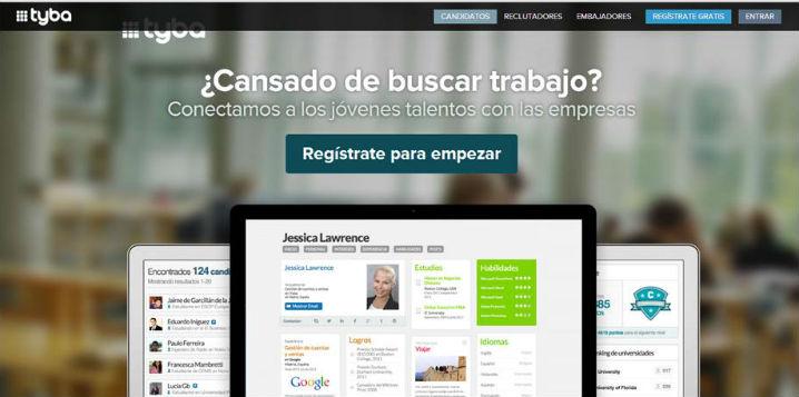 Tyba, una nueva web para buscar trabajo