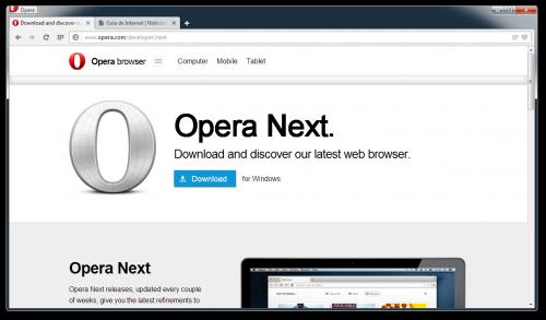 La nueva beta de Opera para Windows y Mac llega con grandes cambios