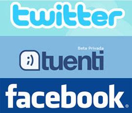 Los jóvenes prefieren Tuenti y Twitter a Facebook