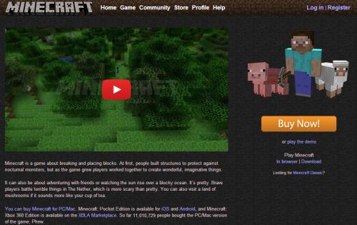 Minecraft supera los 11 millones de ventas en Windows y Mac