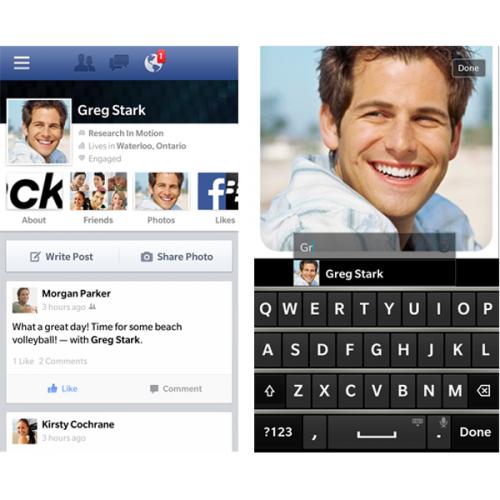 Facebook para BlackBerry 10 se actualiza con varias mejoras