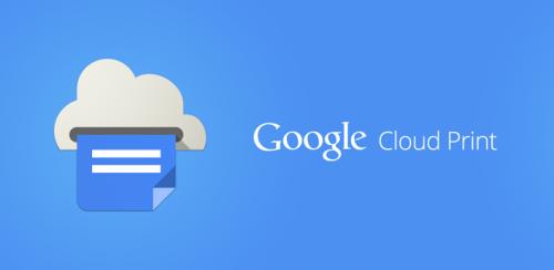 Google lanzó la app de Cloud Print para Android