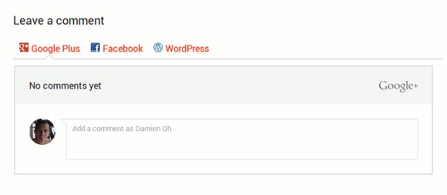 Cómo añadir comentarios de Google + en tu blog en WordPress