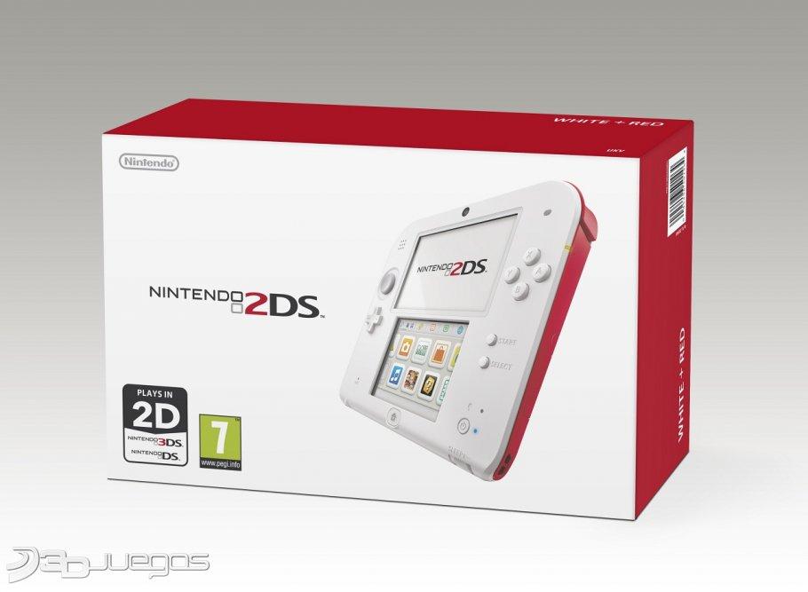 Conoce Nintendo 2DS, la nueva consola portátil de Nintendo