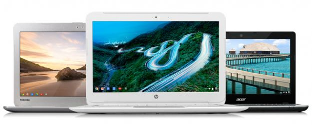 Google lanza 3 nuevos Chromebooks