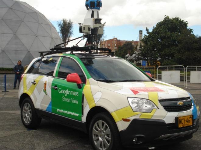 Un coche de Google sufre un accidente