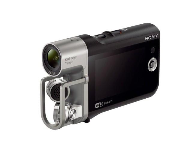 Sony HDR-MV1, una cámara para grabar con alta definición de sonido