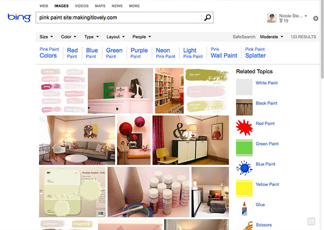 Bing anuncia una mayor integración con Pinterest