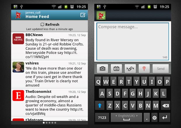 Aplicaciones alternativas de Twitter para Android