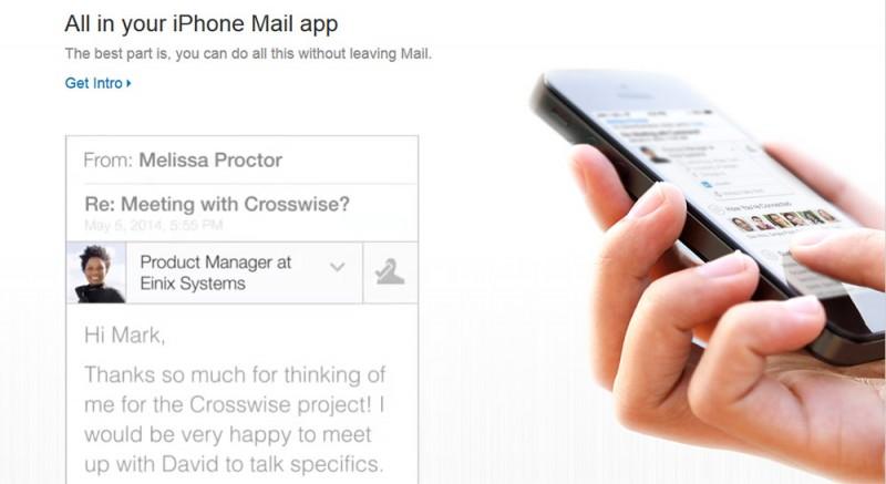 Intro, la app que integra LinkedIn con el correo electrónico