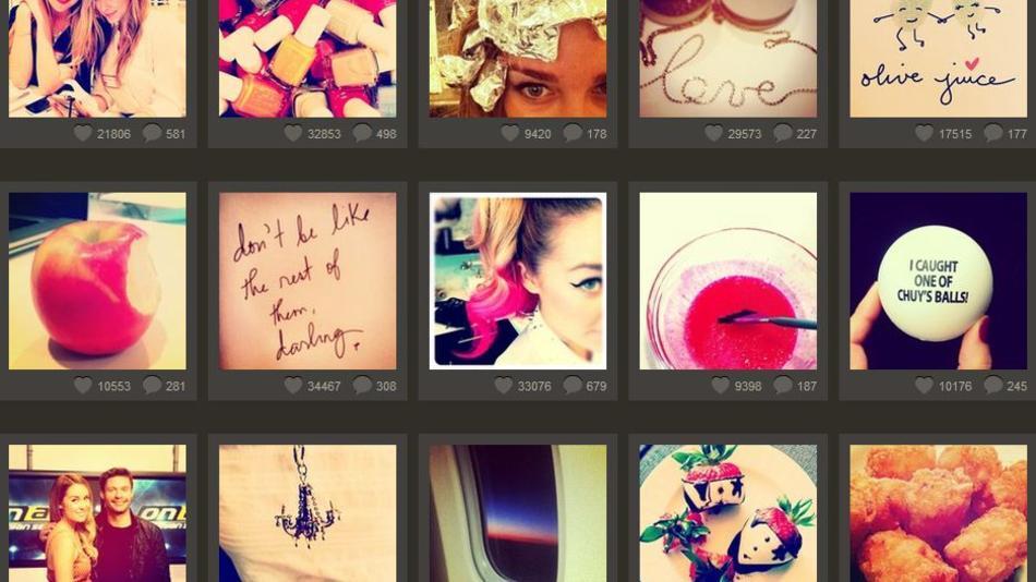 """¿Qué fotos obtienen más """"Me gusta"""" en Instagram?"""