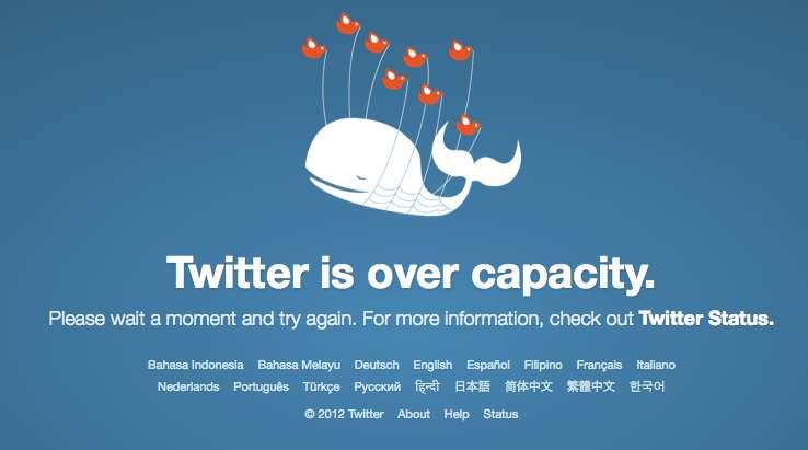 Twitter elimina a la ballena que avisaba de los errores