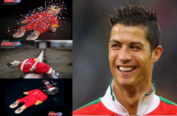 Polémica en Facebook entre Pepsi y los fans de Cristiano Ronaldo