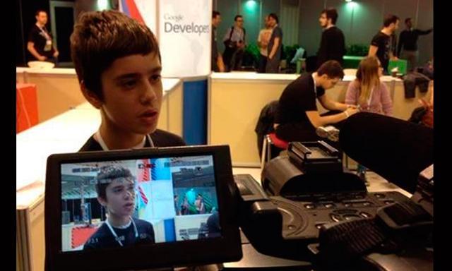 Google ficha a un niño de 12 años para su equipo de programadores