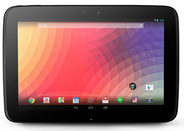 Tablet Nexus 10 recibirá Android 4.4.1