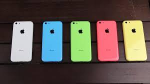 La demanda por el iPhone 5c no cumplió expectativas