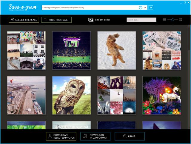 Save-O-Gram, guarda tus imágenes de Instagram en tu PC