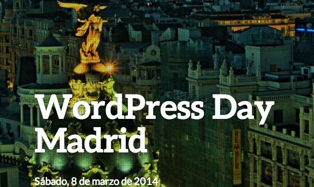 Hoy se celebra el WordPress Day en Madrid