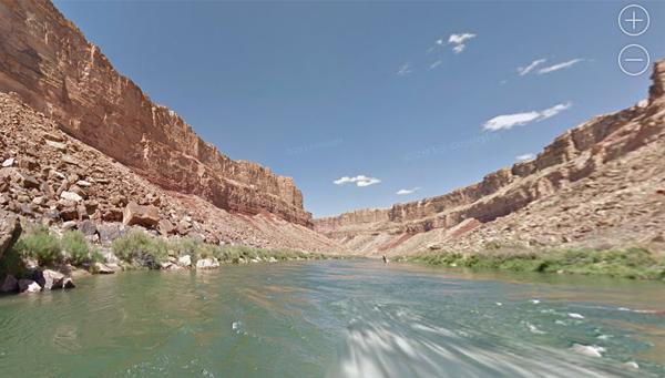Google Maps reproduce el Gran Cañón