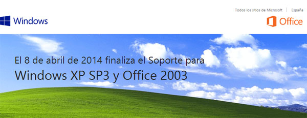 Este martes Microsoft dice adiós a Windows XP