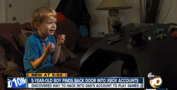 Un niño logra burlar el sistema de seguridad de la Xbox One