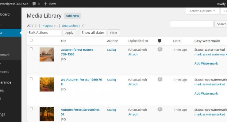 Cómo añadir marcas de agua a tus imágenes en WordPress