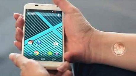 Desbloquar un 'smartphone' ¿con un tatuaje digital en la piel?