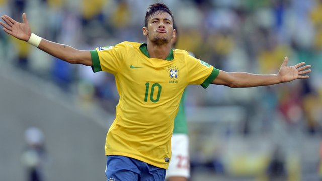 Neymar, campeón del Mundial en Facebook