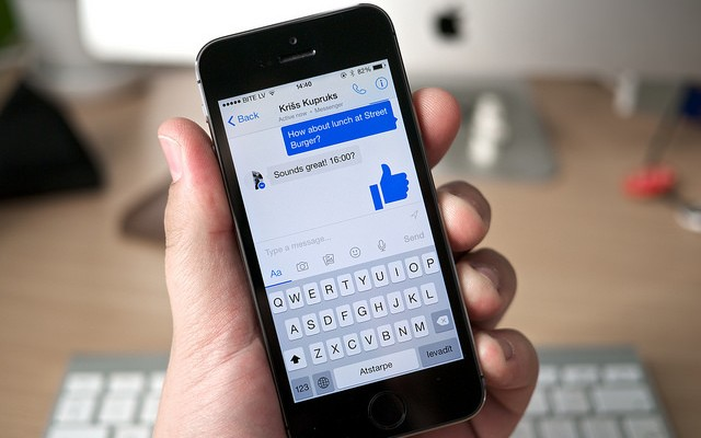 Facebook Messenger registra todos nuestros movimientos