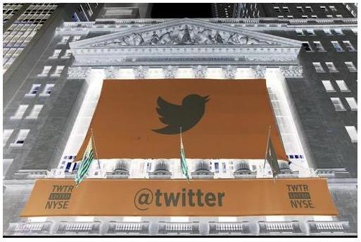 Las acciones de Twitter caen un 12%