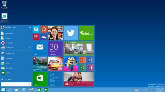 Windows 10 arribará en 2015