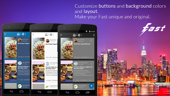 Fast for Facebook, una alternativa al cliente oficial para Android