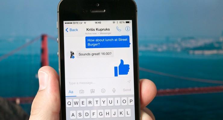 El porqué de la separación de Facebook y Facebook Messenger