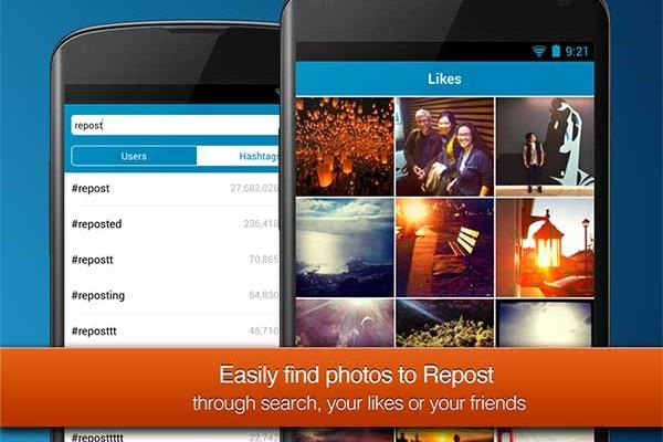 Repost, comparte en tu muro fotos de otros usuarios de Instagram